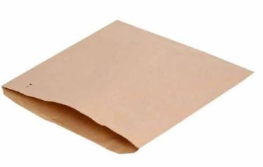 Revive Flat Paper Bag – Brown / Strung – 7×7″ / 175 x 175mm