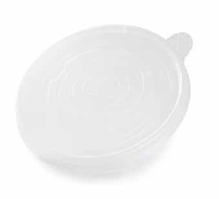 Revive PP Flat Lid for Compostable Food Pot – Translucent -12oz, 16oz, 32oz