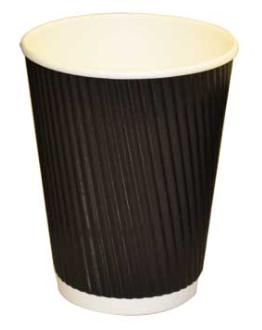 Revive- Ripple Cup – Black – 12oz/360ml
