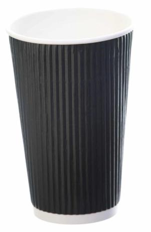 Revive- Ripple Cup – Black – 16oz/500ml