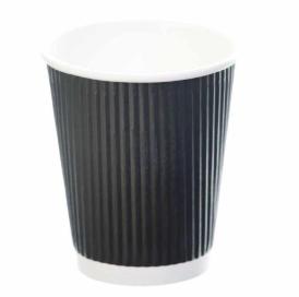 Revive- Ripple Cup – Black – 8oz/240ml