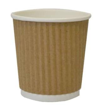 Revive- Ripple Cup – Kraft – 4oz/12ml