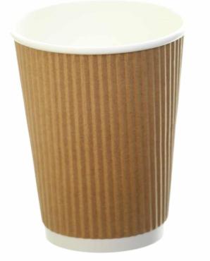 Revive- Ripple Cup – Kraft – 8oz/240ml