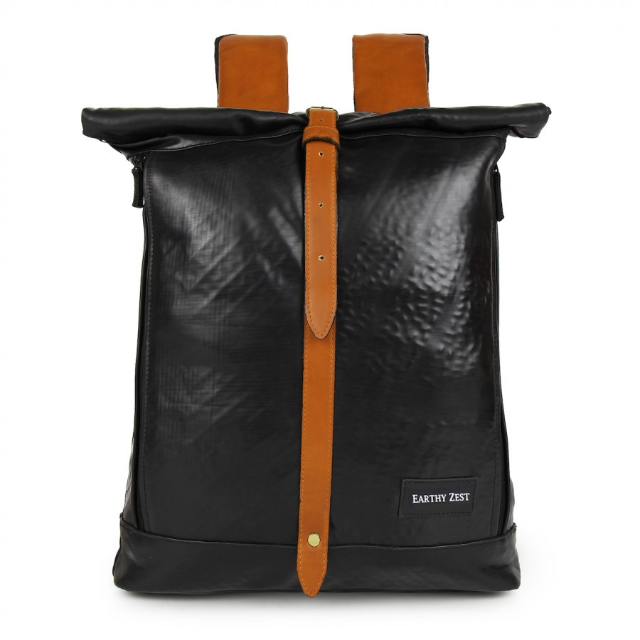 Roll Down Laptop Backpack
