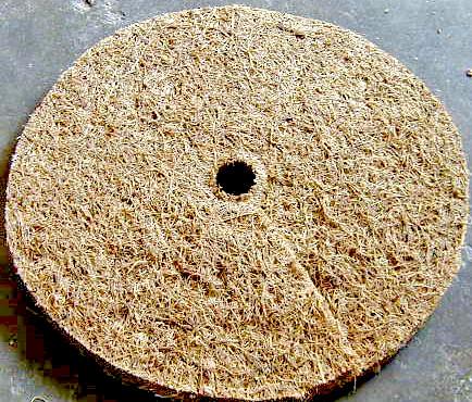Rubberized Coir Basket Liners/Mulch Mats/Weed Mats/Coir Sheets