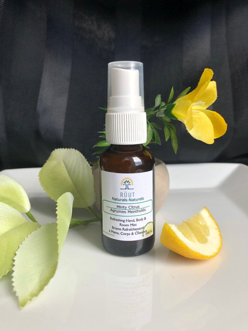RÜUT Minty Citrus Blend Essential Oils Hand, Body