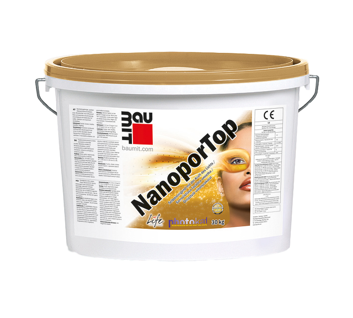 Self-cleaning Finish Render – Baumit NanoporTop