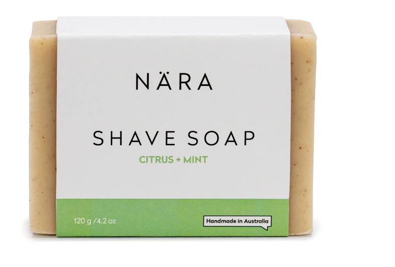 Shave Soap - Citrus & Mint