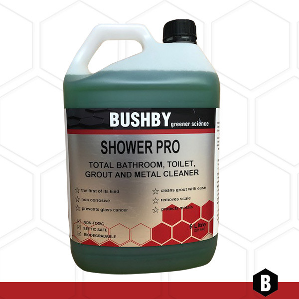 Shower Pro – Total Bathroom, Shower, Grout and Metal Cleaner
