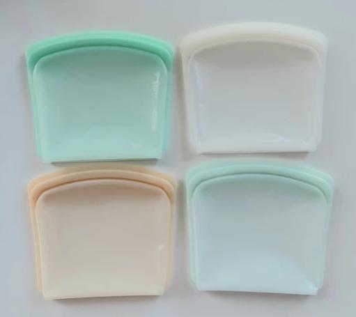 Silicone sandwich / snack pouch
