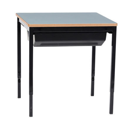 SINGLE DESK WITH SLIDE OUT TRAY (RE-T42)