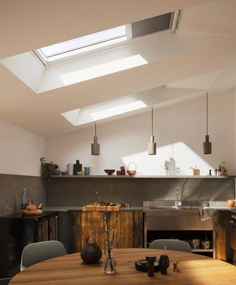 Single roof window bundles for kitchens