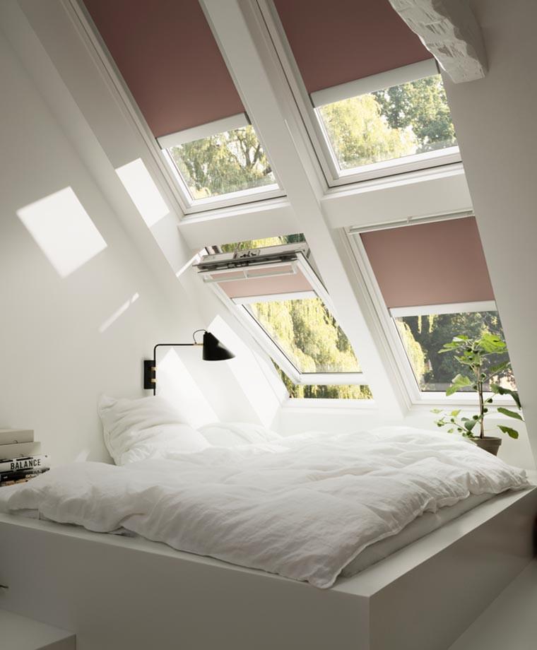 Single roof window bundles for lofts