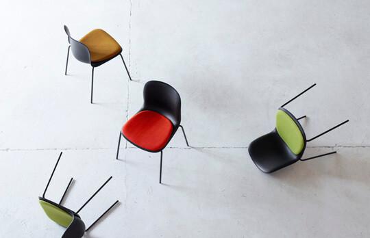 SixE Sidechair Upholstery