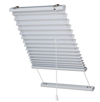 Skylight Pleat Gravity Drop – Cord Operated