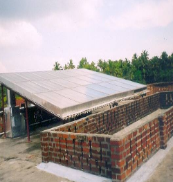 Solar air heater based dryer