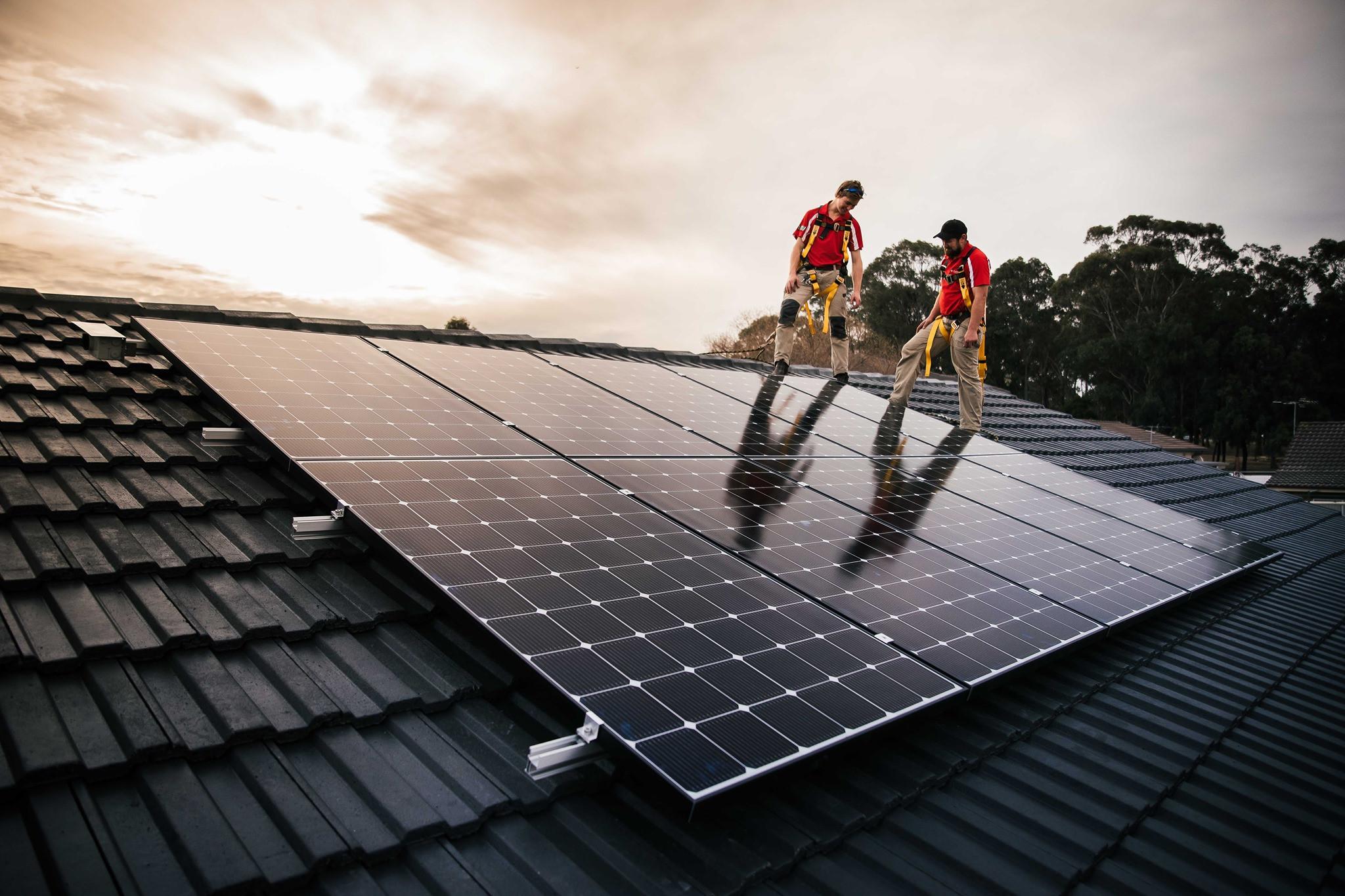 Solar Monitoring Service