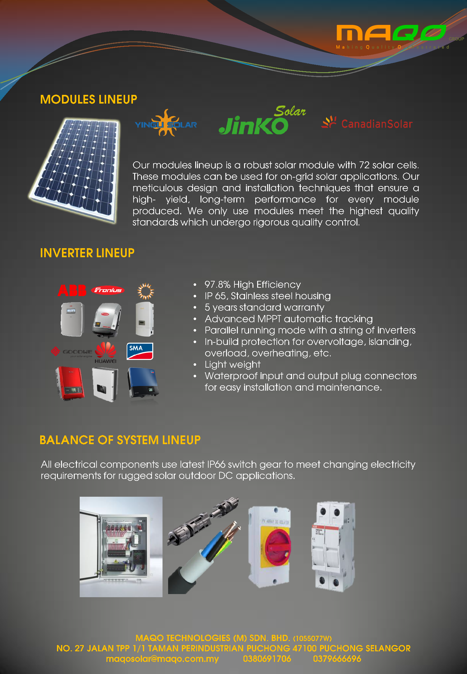 Solar Pv system<12kW Commercial
