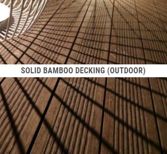 Solid Bamboo Decking (outdoor)
