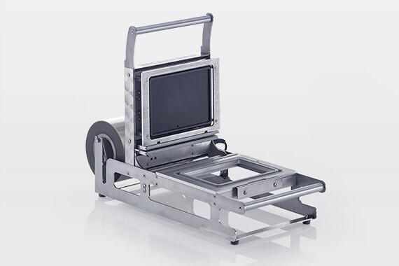 Space saving sealing machines Model 539SP