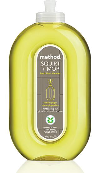 Squirt + Mop Hard Floor Cleaner Lemon Ginger