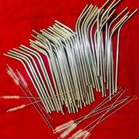 Stainless Steel Metal - reusable Straws