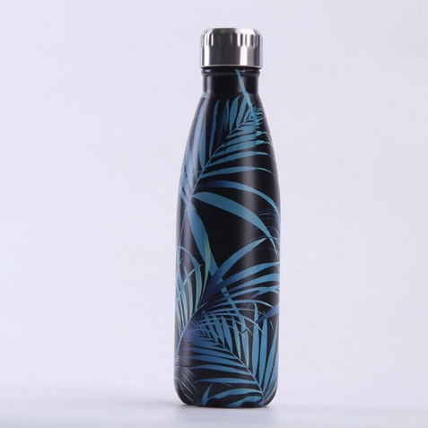 Stainless Steel Water Bottle – Autumn Leaves