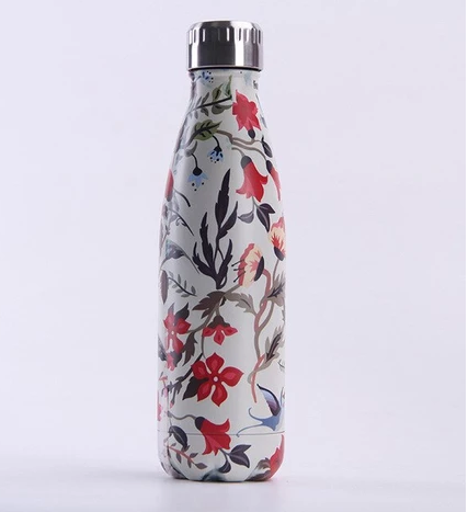 Stainless Steel Water Bottle – Floral