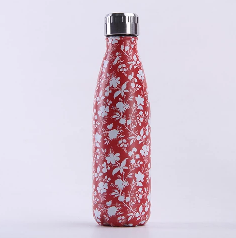 Stainless Steel Water Bottle – More Flowers