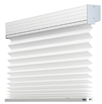 Standard Motorised Pleated Blind