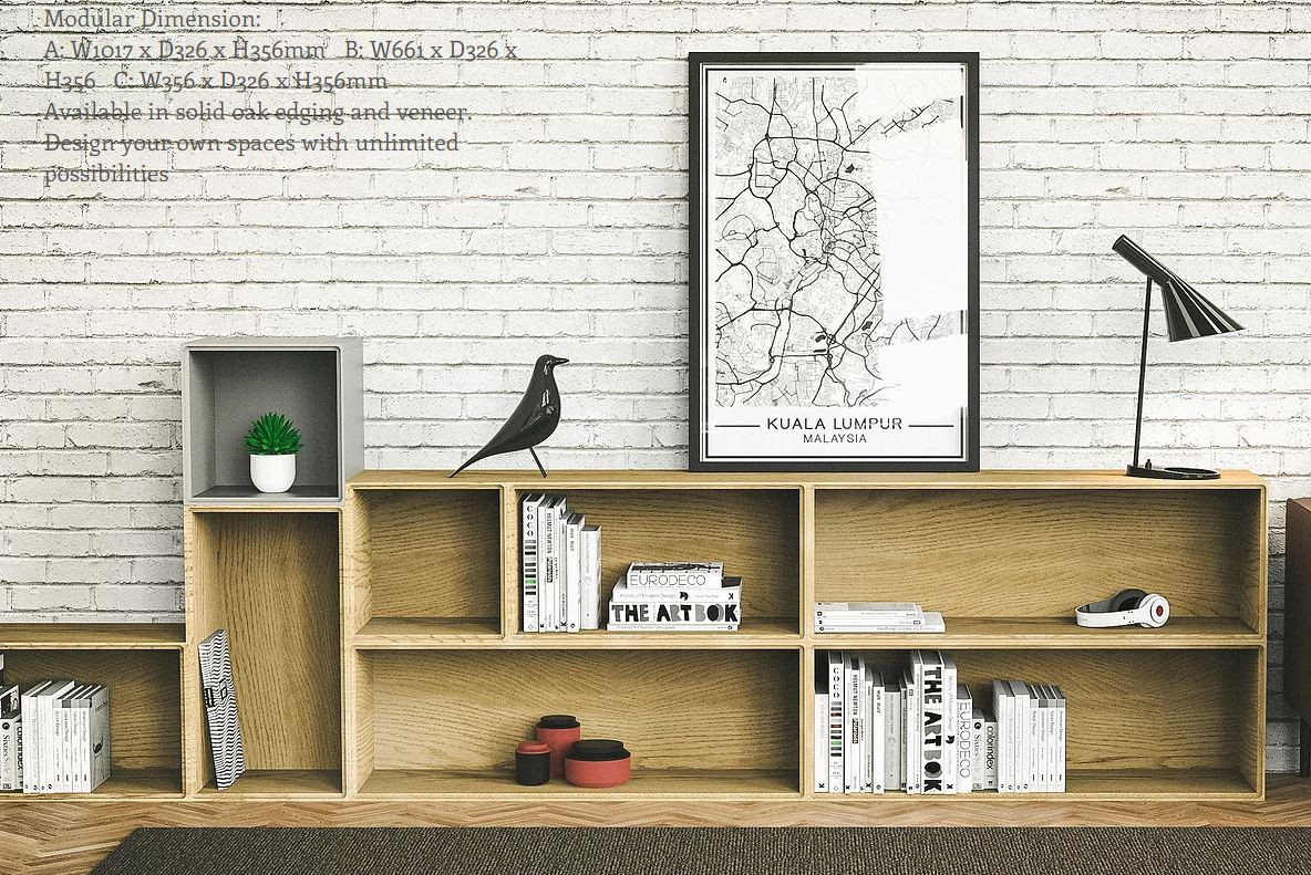 SUDUT Bookcase