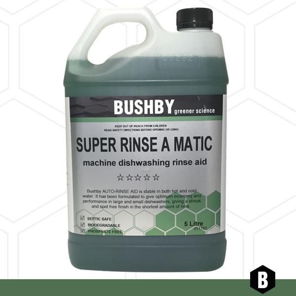 Super Rinse A Matic – Machine Drying Agent