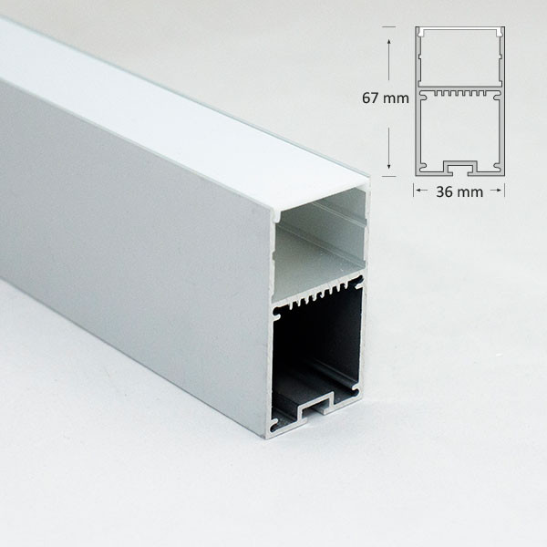 Suspended Rectangular Extrusion
