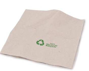 Sustain 100% Recycled Napkin 2 Ply – Brown – 330 x 330mm