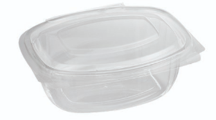 Sustain 500ml PLA Hinged Lid Container