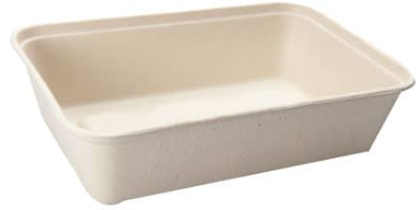 Sustain Bagasse Container – Brown – 16oz / 500ml