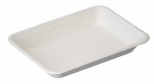 Sustain Bagasse Flat Rectangular Tray – 12oz / 350ml