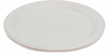 Sustain Bagasse Side Plate – 7″ / 18cm