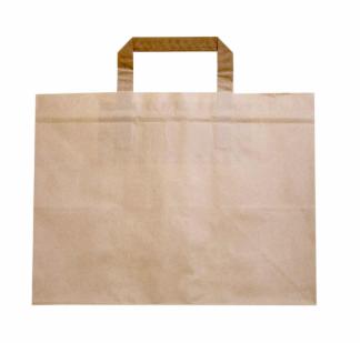 Sustain Deep Gusset Paper Carrier Bag – Brown – 317 x 218 x 245mm