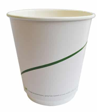 Sustain Double Walled Bio Hot Cup – Print – 8oz/240ml