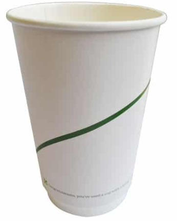 Sustain Double Walled Hot Cup – Print – 16oz/500ml