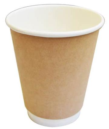Sustain Kraft Double Wall Bio Hot Cup – Plain – 12oz/360ml