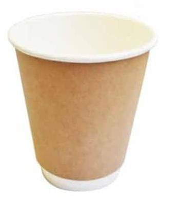 Sustain Kraft Double Wall Bio Hot Cup – Plain – 8oz/240ml