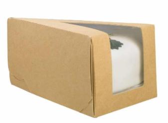 Sustain – Kraft Large Piece-O-Cake Box