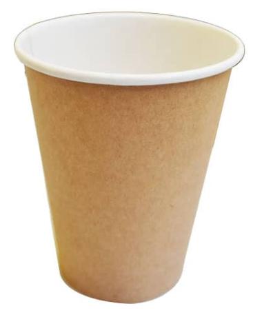 Sustain Kraft Single Wall Bio Hot Cup – Plain – 12oz/360ml