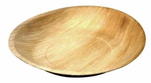 Sustain Palm Leaf Round Plate – 7″ (18cm)