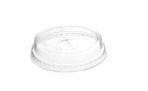 Sustain PLA Cold Cup Flat Lid – Straw cross – Diam 96mm – 10-20oz