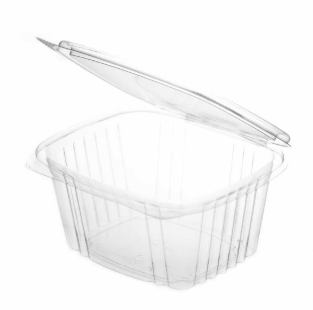 Sustain PLA Rectangular Hinged Container – 12oz / 360ml