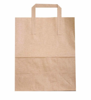Sustain Recycled Large Paper Carrier Bag – Brown – 260 x 135 x 305mm