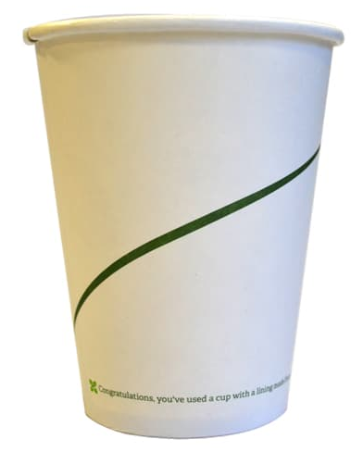 Sustain Single Walled Bio Hot Cup – Print – 10oz/300ml